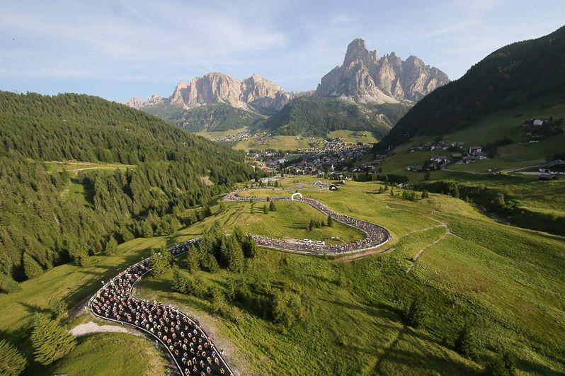Maratones Dles Dolomites