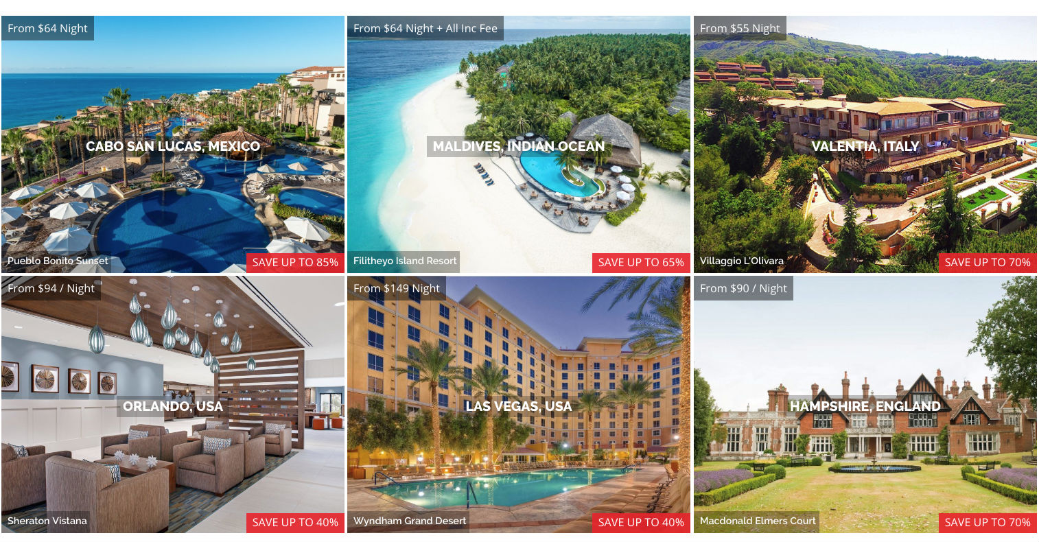 collage resorts
