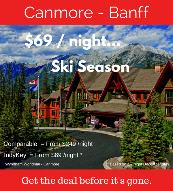 canmore banff resort deals